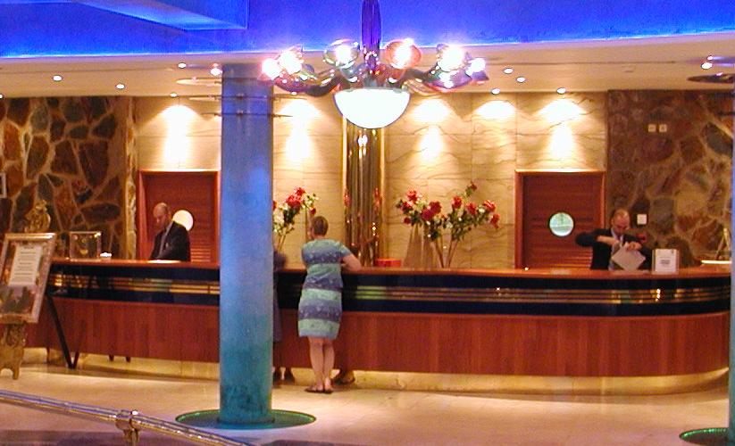 Hotelrezeption (Foto: pencik.de)